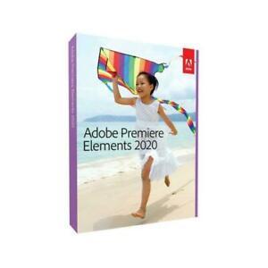 Adobe Premiere Elements 2020 Video Editing PC/MAC New Sealed