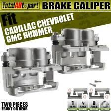 2Pcs Brake Caliper Steel w/ Bracket for Chevrolet Silverado1500 2500 3500 GMC