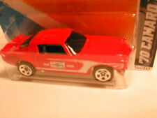 "Hotwheels 2012 #144 HW Performance #4 70 CAMARO ROAD RACE red ""Champion"" emblem"