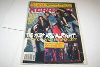 #266 KERRANG music magazine - RUSH VENOM GRIP