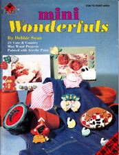 Craft Books: #993 Mini Wonderfuls Wood Painting Project