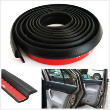 Black Z Shape Car Off-Road 4m Door Window Rubber Seal Weather Strip Hollow Decal