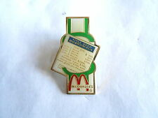 Vintage McDonalds Restaurant Boardwalk Monopoly Game Advertising Pin Pinback