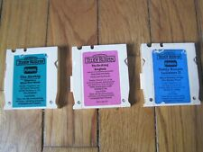 Teddy Ruxpin Lullabies Ii The Do-Along Songbook Airship Cassette Tape Lot 3 Rare