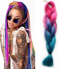 "24"" Ombre Synthetic Jumbo Braids Hair Kanekalon African Twist Braid Hair 100g/pc"