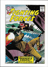 """OUR FIGHTING FORCES #46  [1959 VG-]  """"GUNNER'S CHOICE!"""""""