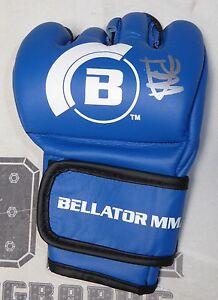 Paul Daley Signed Official Bellator MMA Fight Glove BAS Beckett COA UFC Auto'd
