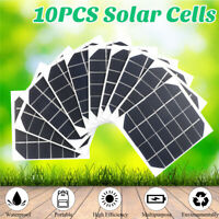10Pcs 20W Mini Solar Panel Cell Power Module Battery Toys Charger Light DIY