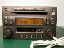 2003 BOSE NISSAN 350Z RADIO W AUX INPUT 6 CD CHANGER PP-2514L