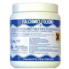 ITALCHIMICI Tricloro multifunzione 90 in pastiglie da200 gr.,piscina trattamento