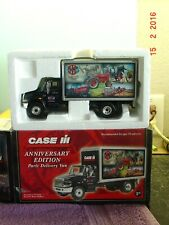CASE IH ANNIVERSARY PARTS DELIVERY TRUCK, 1:34 SCALE, DIE CAST, FIRST GEAR