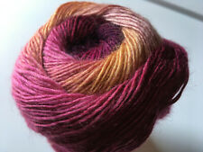 (1) 100 gram Alpaca Active Yarn #60997 Berry Pie Fine Sport Weight 601yds