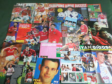 RYAN GIGGS  - FOOTBALL PLAYER  - CLIPPINGS /CUTTINGS PACK