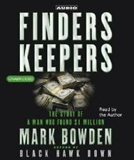 Finders Keepers: The Story of a Man who found $1 Million 2002 by Bowd 0743527232
