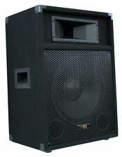 """E-Lektron PW12A DJ PA AKTIVLAUTSPRECHER Aktivbox 12""""/30cm Subwoofer 600W Peak"""