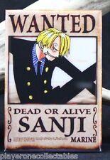 "Sanji Wanted Poster - 2"" X 3"" Fridge / Locker Magnet. One Piece Anime"