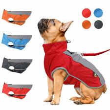 Warm Waterproof Pet Puppy Vest Jacket Dogs Clothes Outdoor Rain Coat Motion Lot