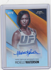 UFC MMA 2017 Topps Fire Authentic autograph signed Auto card Michelle Waterson