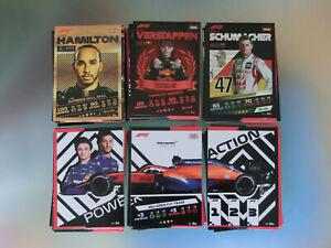 160 Karten Topps Turbo F1 Attax 2021 Hamilton Verstappen Schumacher Perez Vettel