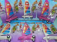 Britains 1/32 Box of 6 Land Yachts (Wind Surfer) & Action Figures Mint on Card