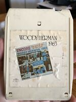 Encore by Woody Herman 8 Track Cartridge Special Collector's Series 1963 Jazz VG