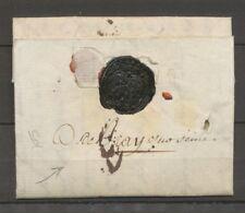 Lettre de Paris Déboursé Manuscrit D.de.Bray sur seine SEINE ET MARNE RRR X3330