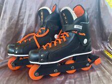 Vintage Seneca NHL Street Hockey Skates Roller Blades Size 12