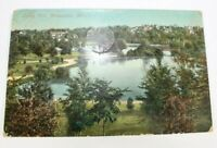 Vintage Loring Park Minneapolis 1912 Rare Posted Antique Postcard Collectible
