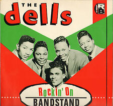 "THE DELLS ""ROCKIN' ON BANDSTAND"" DOO WOP ROCK & ROLL LP CHARLY 1056"