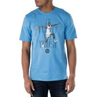 "NWT Men's Nike Air Jordan 7 ""In Flight We Trust"" T-Shirt Carolina Blue Size XL"
