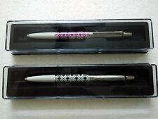 Parker Jotter Set of 2 Special Edition CT BallPoint Pen Ballpens Diamonds New