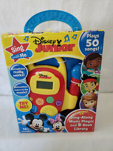 Disney Junior Sing With Me Music Player NEW IN BOX/OPEN BOX