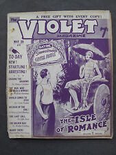 UK Pulp Magazine - THE VIOLET MAGAZINE  No. 72  May 28, 1925