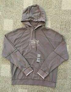 Nike Men's XL Sportswear Club French Terry Pullover Hoodie Sweatshirt Taupe
