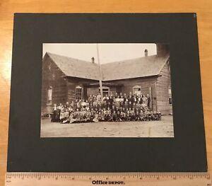 Woodleaf NC North Carolina Original 1905 school church Photograph Rowan County