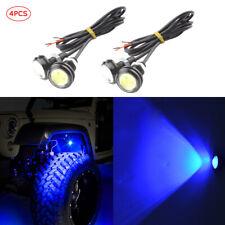 4pcs Waterproof LED Rock Light ATV SUV Off-Road Truck Underbody Trail Blue