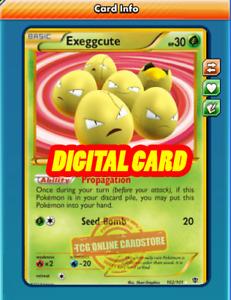 SR Exeggcute SECRET RARE 102/101 for Pokemon TCG Online (PTCGO, Digital Card)