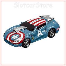 "Carrera Go 61255 Marvel The Avengers ""Capitan America Stormer"" 1:43 CAR AUTO"