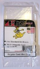 5 Pro Mold Regular Size Snap Card Holders Standard Cards Sports Trading Cards
