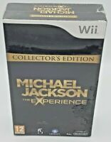 Michael Jackson: Collectors Edition 'The Experience' Nintendo Wii- BNIB & sealed