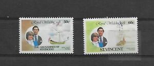 L5931 ST VINCENT ROYAL WEDDING  1981 BOAT SHIP THE MARY THE ISABELLLA
