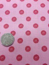 100% Algodón Técnica de Acolchado Manualidades Tejido Floral Color Rosa Kimono