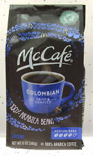 McCafe Columbian Coffee 100% Arabica Beans ~ Ground Medium Dark ~ 12oz Bag