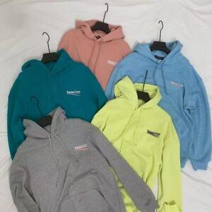 SS21 Unisex Balenciaga Pullover Cotton Hoodies Men's Sweatshirts Women's Hoodied