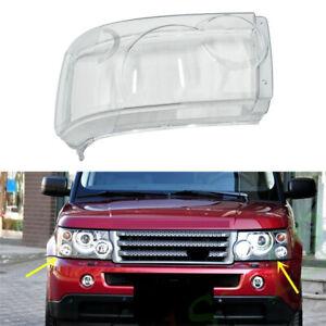 Left Side Headlamp Headlight Lens Cover Fit For Range Rover Sport 2006-2009 Car