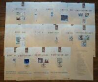 Bund ETB 1998 Ersttagsblätter kompletter Jahrgang BRD mit Inhaltsverzeichnis