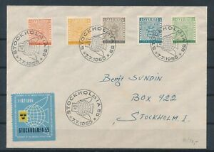 [G43874] Sweden 1955 Good cover Very Nice see picture