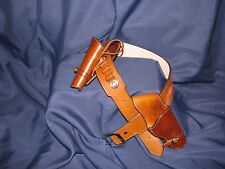 Leather Montado Double Gun Rig | Cowboy Western Holster Belt