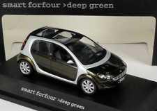 1:43 MCC SMART FORFOUR w454 deepgreen VERDE GREEN-spacciatore-Edition OEM-SCHUCO