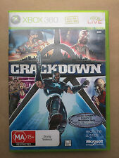 Crackdown - Xbox 360 - Very Good Condition - Free Postage
